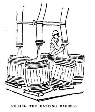 Filling Sugar Barrels